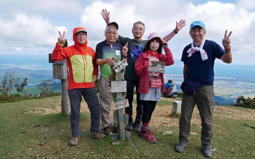 関西百名山 蛇谷ケ峰からびわ湖を一望