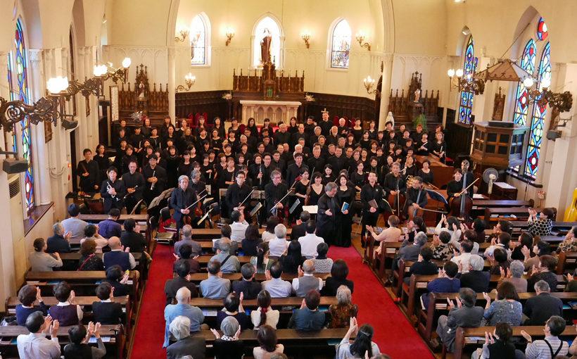 西宮 カトリック夙川教会で「ロ短調ミサ曲」を聴く