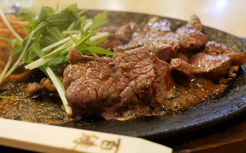 京都・裏寺町 百練のステーキ定食