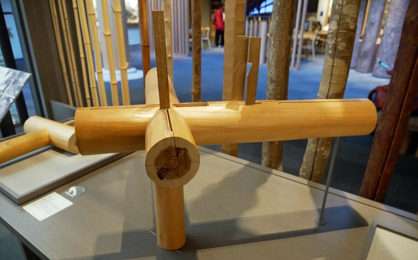 神戸 竹中大工道具館「大工さん展」で木組を楽しむ