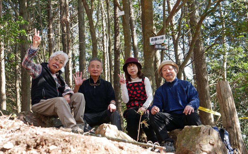 西国札所・勝尾寺の古参道から東海自然歩道を箕面へ