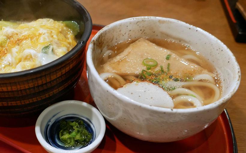 京都・桂 「つるめん」のヒレかつ丼うどん付