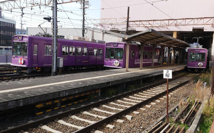 歩いて昼飯:歩 静かな京都~嵐電を歩く