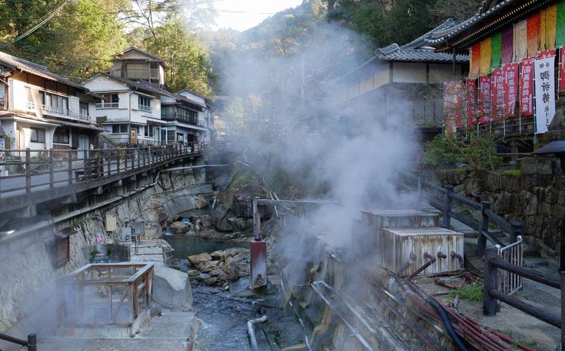 デュアル・ピルグリム 2泊目は湯の峰温泉
