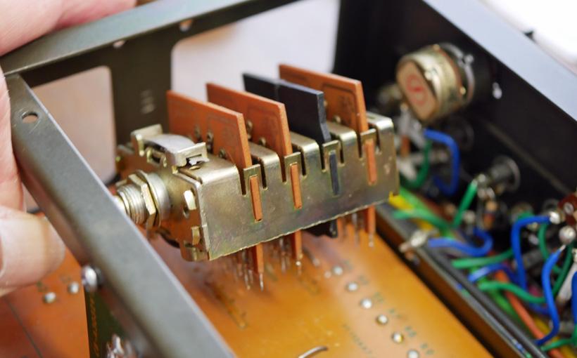A3032の再生その5 セレクター・スイッチまで分解
