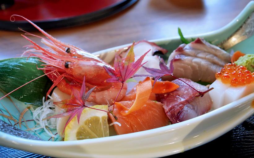 京都・宮津 ととま―と・レストラン漁連のお造り定食