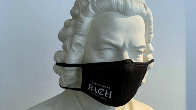 「オランダバッハ協会」のマスクで感染防止