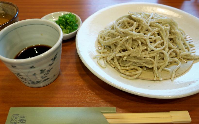 京都・久我 「蕎麦工房 膳」のもりそば