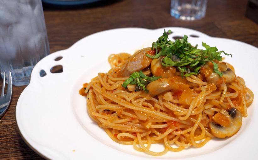 孫娘と食べる ナポリタン・スパゲッティ