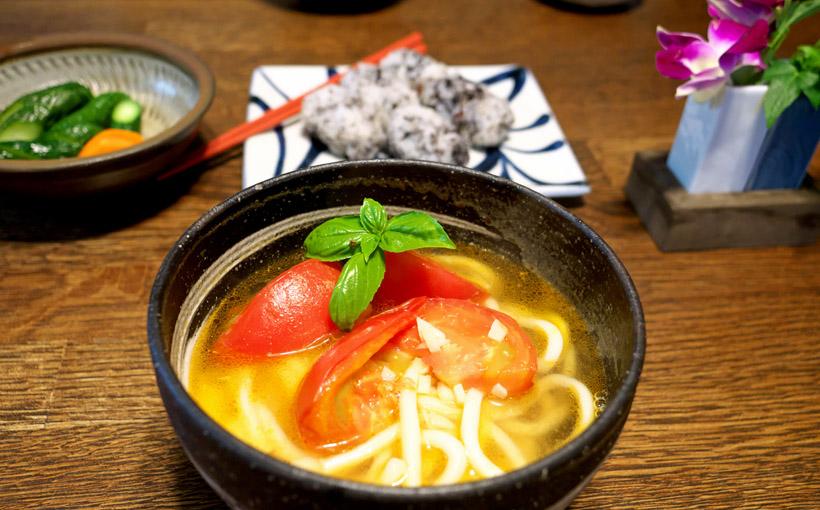 「スープ・レッスン 2」から完熟トマトうどん