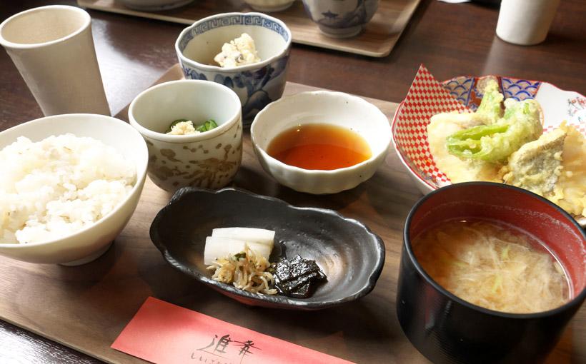 京都・東舞鶴 進肴の店主おすすめ定食