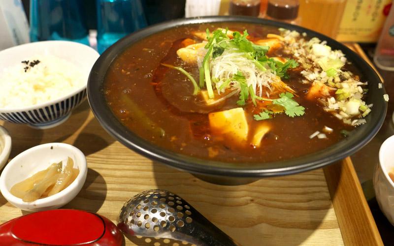 京都・竹田 中華川食堂の麻婆麺